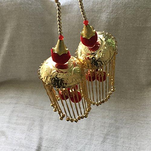 Yalulu White Romantic Graceful Rose Wedding Ring Cushion Ring Box Heart Favors Wedding Ring Pillow with an Elegant Satin Flora