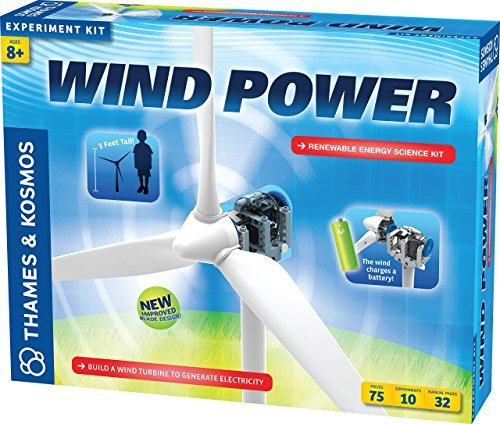 Thames & Kosmos Wind Power (V 3.0) Science Kit [並行輸入品]   B0165SQ6SU