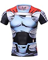 Red Plume® Men's Compression Sports Fitness Shirt, Movie Hero Raytheon T-shirt