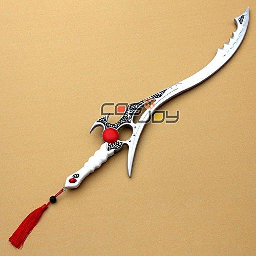 Mighty Morphin Power Rangers Green Ranger Sword of Darkness PVC Cosplay Prop-1056 (Cosplay Power Rangers)