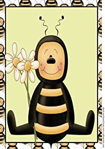 A4 aprox bee topper 6 de Sharon Poore