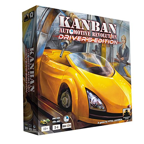 Stronghold Games Kanban Automotive Revolution Drivers Edition Board Games]()