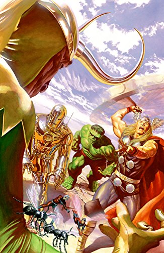The Avengers 1: Variant Cover by Alex Ross - Hand-Signed Publisher Proof Limited Edition of 5 - Giclee on Canvas - NEW 50x33 with COA - Officially Licensed and Published by Marvel and Alex Ross ()