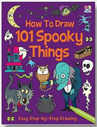 How To Draw 101 Spooky Things Top That 9781849569897 Amazon Com