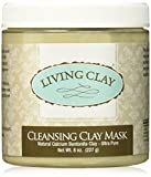 Living Clay Cleansing Clay Mask, 8 Ounce Review