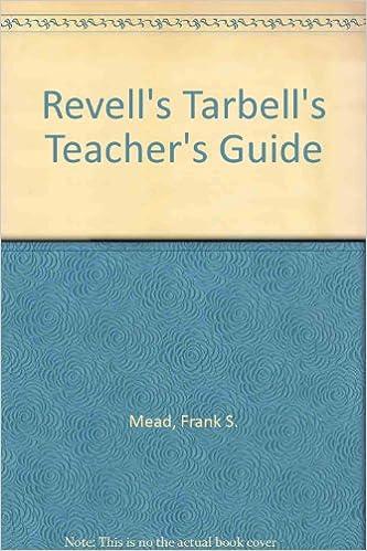 1964 Revells Tarbells Teachers Guide To The International Sunday