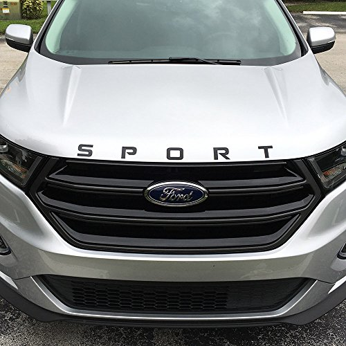 Ford Fusion Sport >> 2015-2016 Ford Edge Hood SPORT Decal Sticker (Glossy Black ...