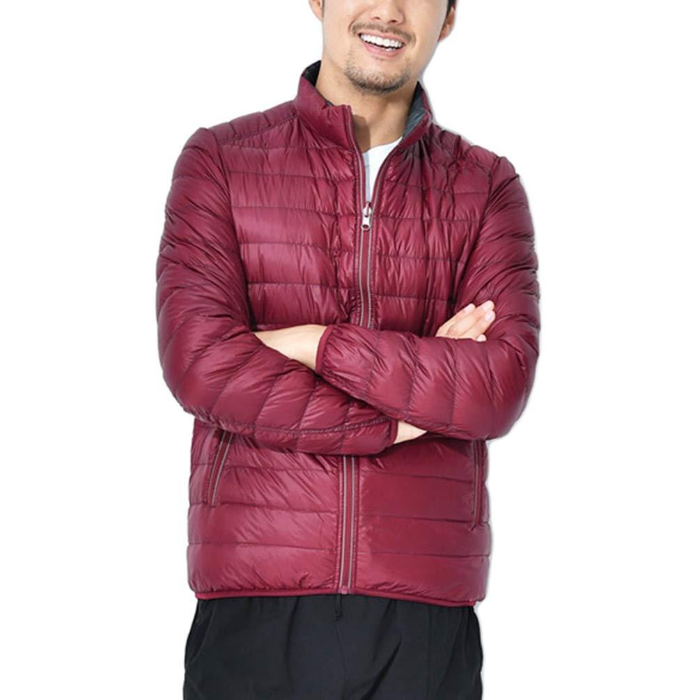 Tookang Hombres Moda Ultraligero Abajo Chaquetas de Pluma Mantener Caliente Abrigo de Invierno