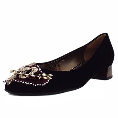 Högl Swarovski Noir - Chaussures Botte ville Femme
