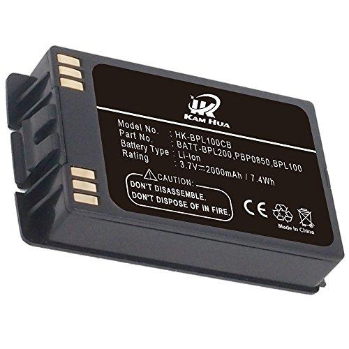 BATT-BPL200, BPL100, PBP0850, 700430457, KAMHUA Battery for POLYCOM 6020, 6030, 8020, 8030, PBP1300, PBP1850, TB100 -