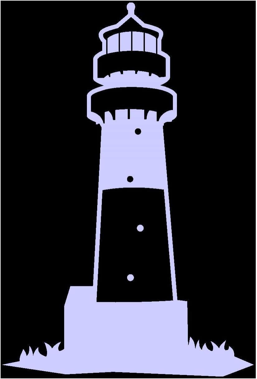 Samunshi Leuchtturm Büsum Aufkleber In 8 Größen Und 25 Farben 6 5x10cm Flieder Küche Haushalt