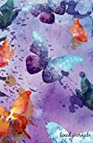 #10: Journal: Butterflies Water Color Lined Journal,Journal Writing,Journals to Write In,Soft Cover,Journals for Activity Books Children, Women, Boys, ... Diary 135 Pages, Size 5.5 x 8.5 (Volume 2)