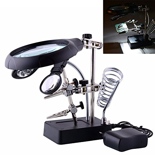 Desktop Magnifier Helping Auxiliary Magnifying