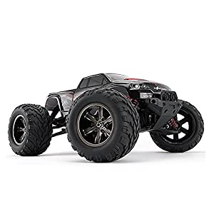 FMT All Terrain RC Car 9115, 42+KMH 1/12 Scale Radio Controlled Electric Car - Offroad 2.4Ghz 2WD Remote Control Truck - Best Christmas Gift for Kids and Adults (Blue)