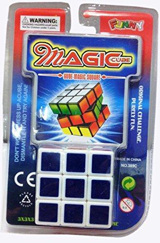 Magic Square Cube Puzzle 3x3x3