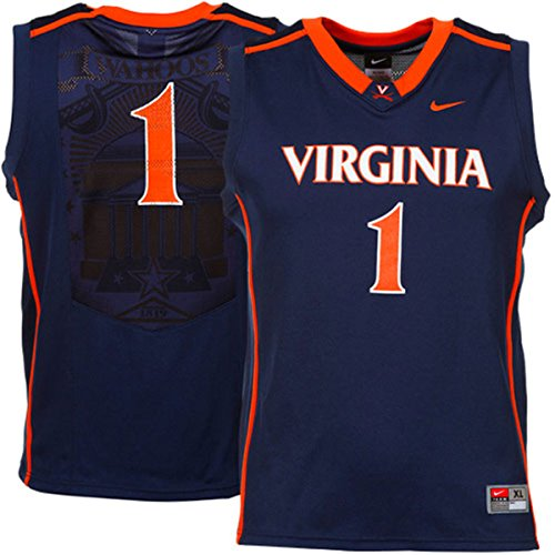 Virginia Cavaliers Boys Youth #1 Nike Basketball Jersey