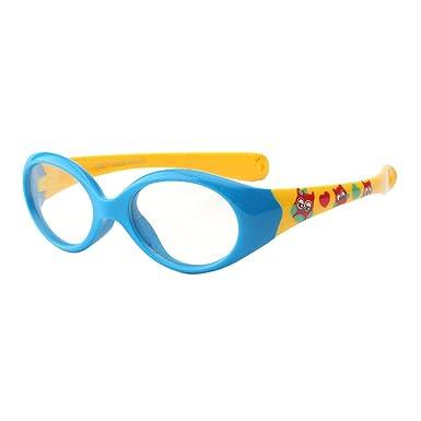 6d72ecfb7cee8 Juleya Kinder Gläser Rahmen - Silikon - Kinder Brillen Clear Lens Retro  Reading Eyewear für Mädchen Jungen - 180710ETYJJ09: Amazon.de: Bekleidung
