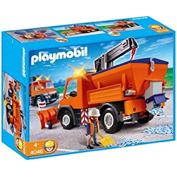 Playmobil truck with trailer toys games - Playmobil camion police ...