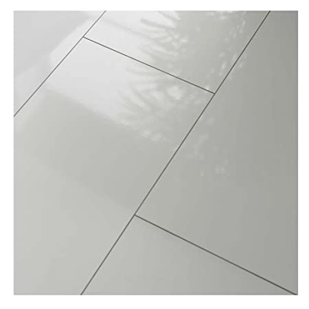 Westco H474418 8mm Glossy Laminate Tile Effect Flooring Plank