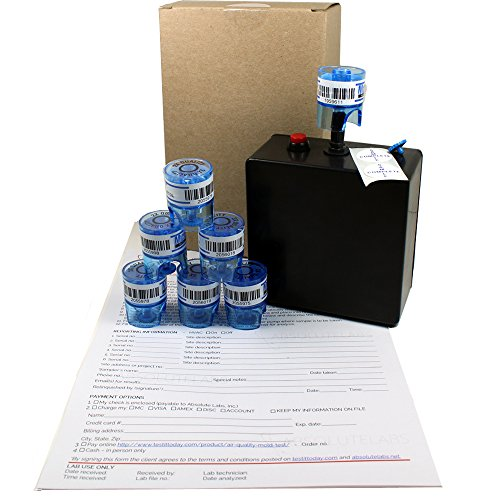 Mold Testing Kit for Air Quality (3 Samples with lab analysis)