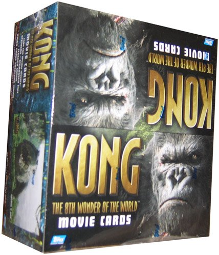 King Kong The Movie '8Th Wonder Of The World' Trading Cards Retail Box - 24P