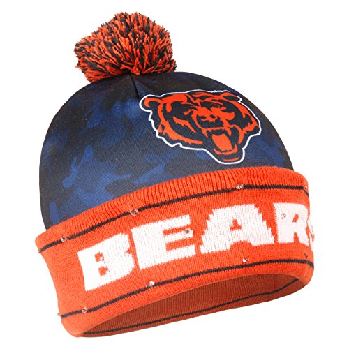- Chicago Bears Camouflage Light Up Printed Beanie