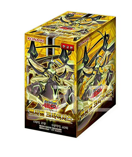 Pokemon Korea Yugioh Cards Maximum Crisis Booster Box(40 Pack)/ Korean Ver