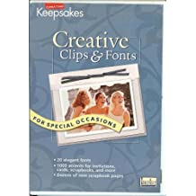 Creative Clips & Fonts for Special Occasions