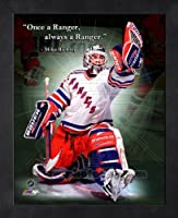 Mike Richter New York Rangers Pro Quotes Framed 8x10 Photo