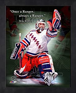 Mike Richter New York Rangers Pro Quotes Framed 11x14 Photo