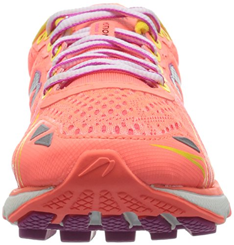 Zapatillas Deportivas Newton Running Mujeres Motion V Coral / Yellow