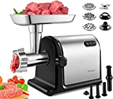 Aobosi Electric Meat Grinder 【2000W Max 】Heavy Duty Meat Mincer Sausage Stuffer