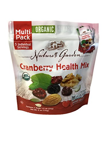 Nature's Garden Organic Cranberry Health Mix, 1.2 oz Bags (Pack of (Health Nut)