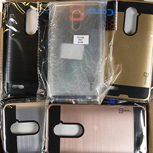 CoverON Wholesale Lot of 60 Bulk ZTE Grand X Max 2 / Max Duo LTE Phone Cases - Various Styles/Colors (Zte Grand X Max 2 For Sale)