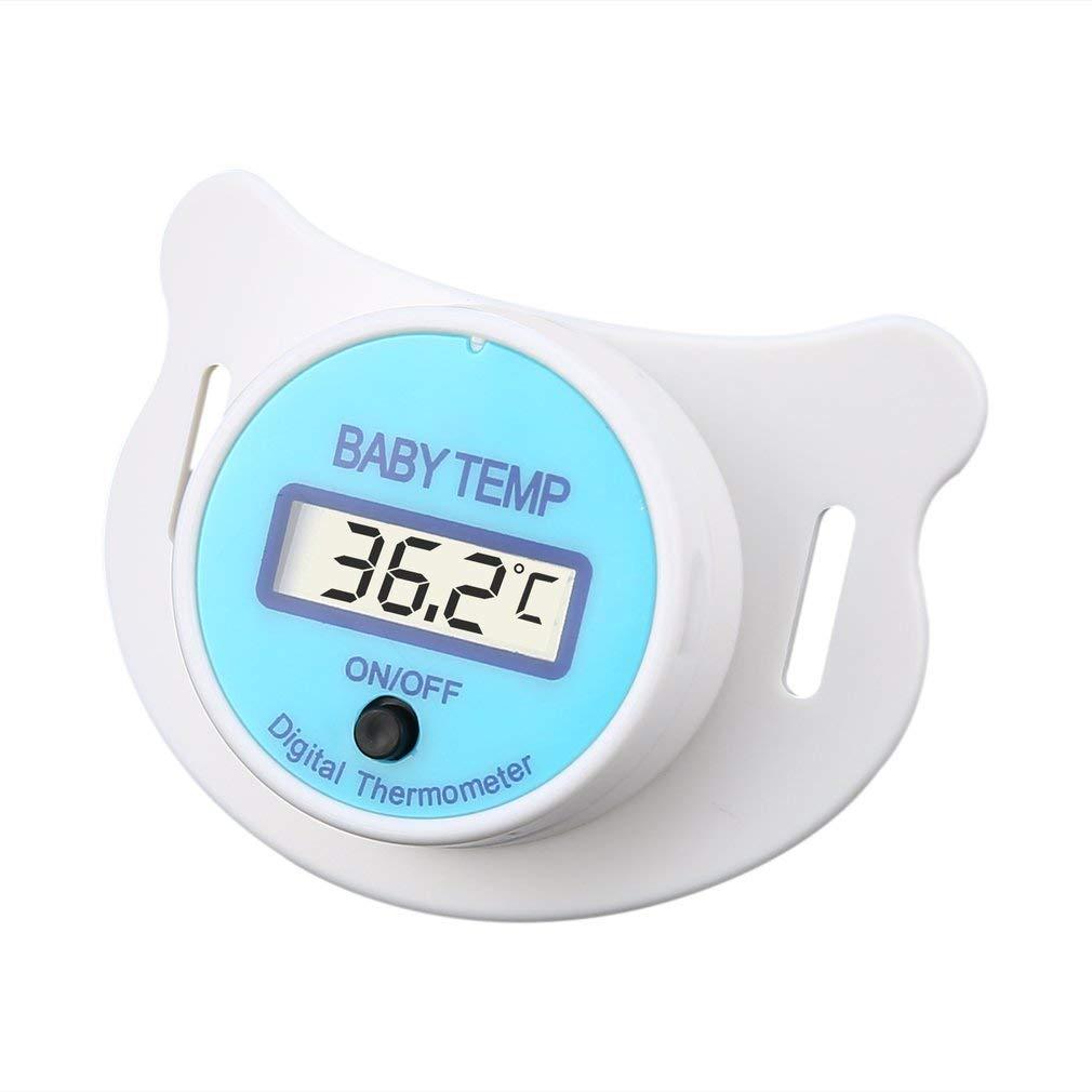 Praktische Baby-Kind-LCD-Digital-Mundnippel-Schnuller-Thermometer-Temperatur ToGames-DE