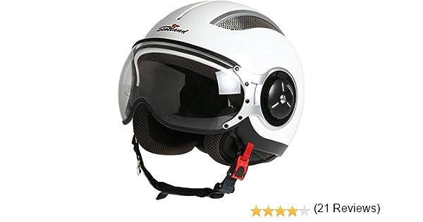 Rodeo Drive Casco Moto Steel XS blanco