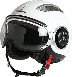 XS Rodeo Drive Casco Moto Steel blanco