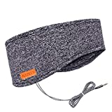 Sleep Headphones, Azzker Eye Mask for Sleeping with Ultra-Thin HD Stereo Speakers
