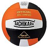 Tachikara Sensi-Tec Composite High Performance Volleyball, Orange/White/Black