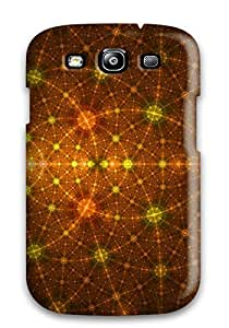 New KkeloGe4162RkCmB Shapes Abstract Tpu Cover Case For Galaxy S3
