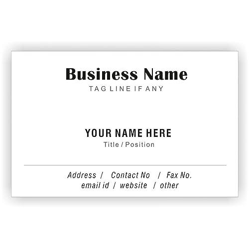Personalised Business Cards Amazon Co Uk