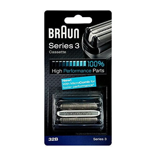 Price comparison product image Braun Series 3 Shaver Cassette Black 32B