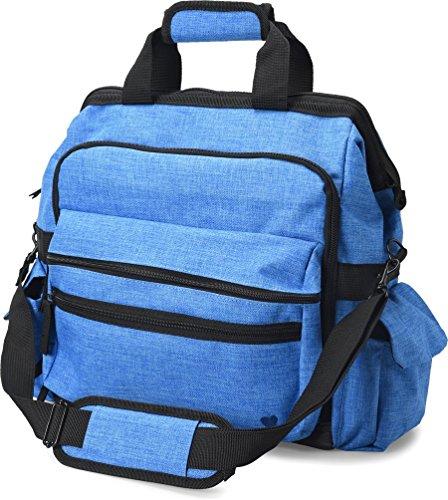 Nurse Mates - Specials - Ultimate Nursing Bag Electric Blue Bag Health Tote Bag
