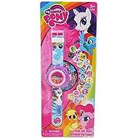 Projector Cartoon Pony Children Digital Projection Wristwatches Kids Boys Girls Clock Electronic watch Gift