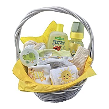 Newborn baby gift basket set for boysgirls 0 6 months 11 newborn baby gift basket set for boysgirls 0 6 months negle Images