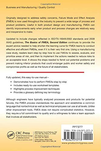 Buy The Basics of FMEA Book Online at Low Prices in India | The