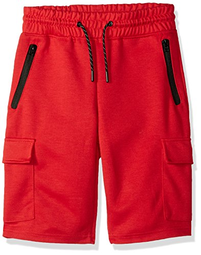 Southpole Big Boys Jogger Shorts in Basic Solid Colors and F