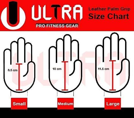 attivit/à sportiva palestra allenamento per crossfit in pelle Protezioni per palmo della mano ginnastica misura e colore a scelta