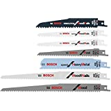 Reciprocating Saw Blade Set 7-Pack Carbon and Bi-Metal