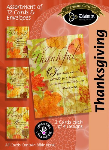 Boxed Thanksgiving Cards - 1